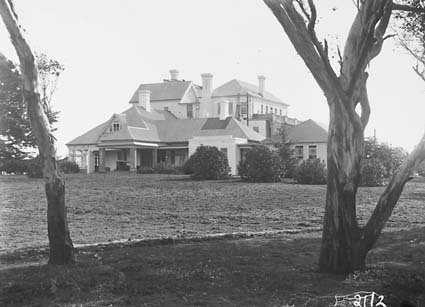 Government House from north east.residence of  the Governor General. Yarralumla
