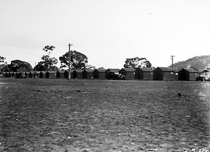 Workmens huts, Capital Hill Camp