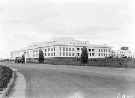 Parliament House from north west.