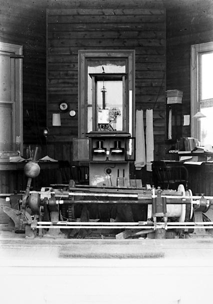 Pyrometers and other instruments.Maybe the Brickworks laboratory