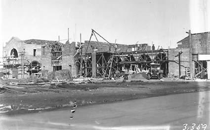 Civic Centre buildings under construction