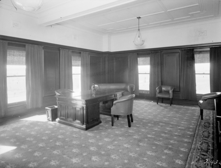 Prime Minister's office in Parliament House