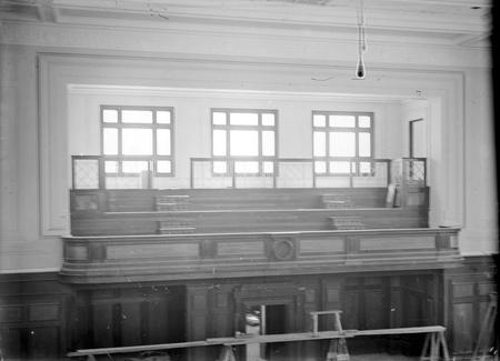 Parliament House, interior - Public Gallery, Senate