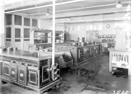 Kitchens in Parliament House.