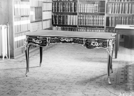 Queen Victoria's Table. Parliamentary Library.