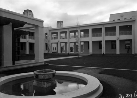 Courtyard of Parliament House.