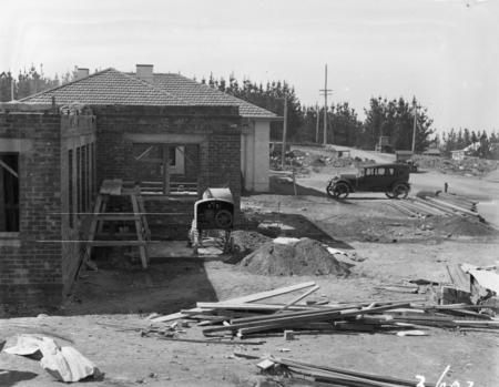 Construction, Mount Stromlo.