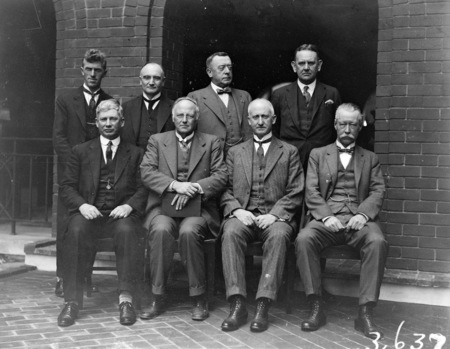 Members of the Royal Commission on the Constitution.