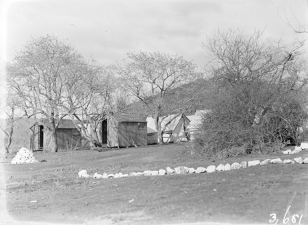 Tents and huts, Forestry Camp, Mount Coree.