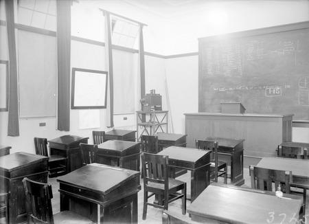Lecture Room,Australian Forestry School,Banks Street Yarralumla