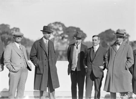 Group, including Sir Littleton Groom.