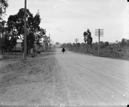 Unidentified road.