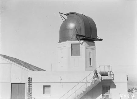 Observatory dome and building, Mt Stromlo.