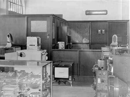 Premises of Australian General Electric Co. interior, showing electrical appliances.