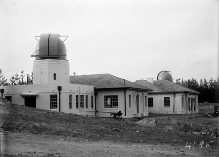 Observatory domes and Administrative building at Mt Stromlo Observatory