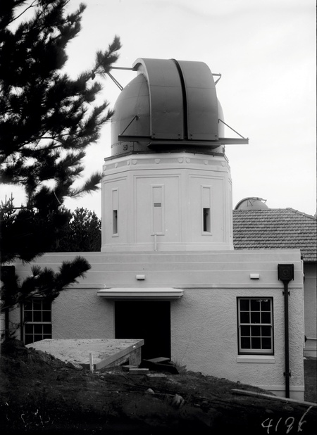 Observatory domes at Mt. Stromlo Observatory