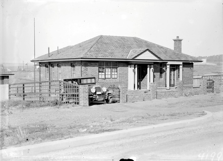 FCC House Type 21 J.1 with motor car