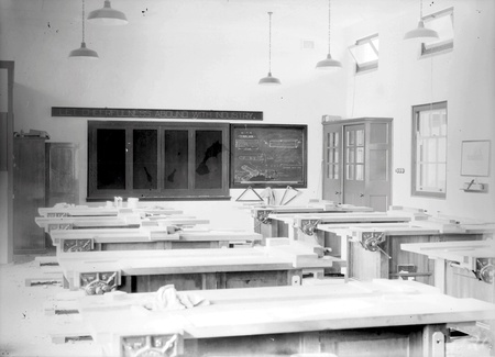 Carpentry school room - Technical Trades School, Telopea Park