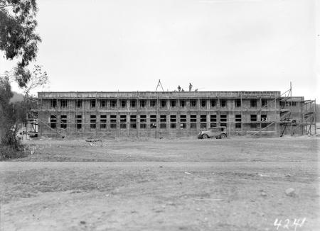 Unidentified building under construction