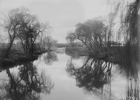 Molonglo River winter scene.