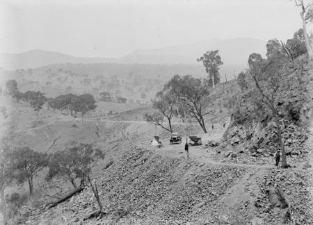 Road construction - Uriarra Road
