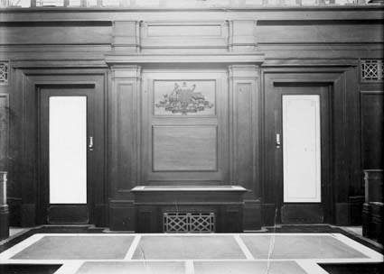 Parliament House - Dais for Speakers chair, House of Represantatives Chamber