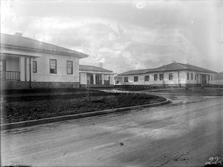 Gorman House from Ainslie Avenue looking north-east, Reid