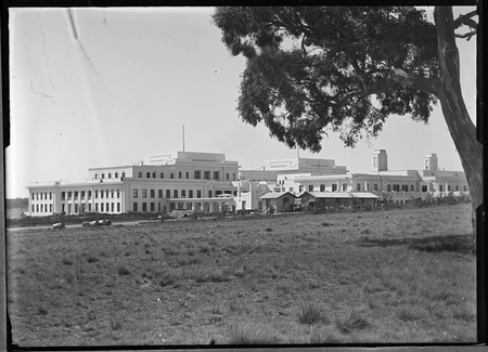 Parliament House from south west (Camp Hill).