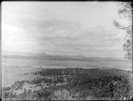 Panorama from Mount Ainslie toward Mount Pleasant