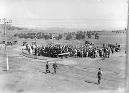 Naming ceremony of 'Civic' by Prime Minister S M Bruce on 3 December 1927.