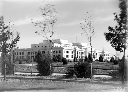 Parliament House front facade.