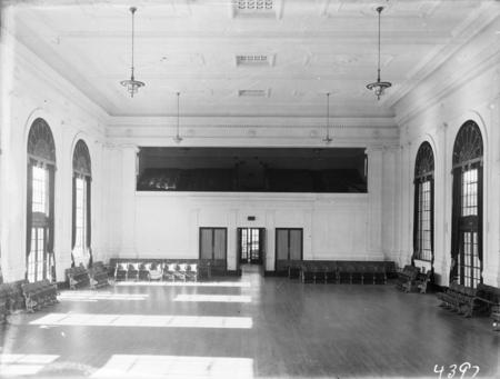 Interior of the Albert Hall.