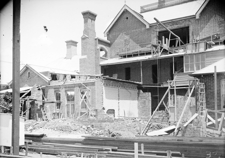Alterations to Government House, southern facade. Yarralumla.