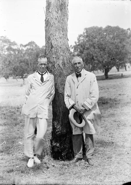 Rt Honourable W M Hughes and the Hon P G Stewart.