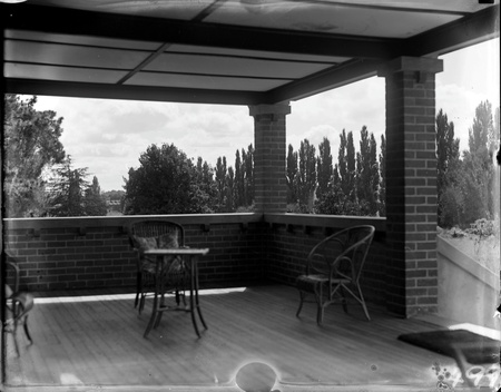 Verandah at Cuppacumbalong Homestead