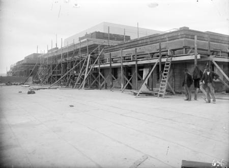 Parliament House under construction. First floor level.