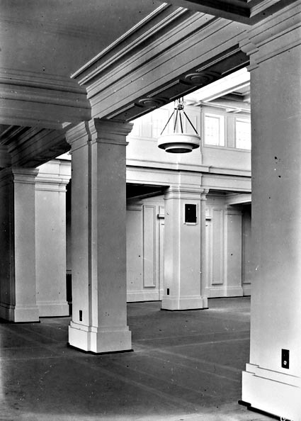 Part of the interior of King's Hall, Parliament House