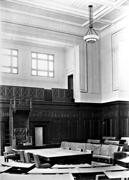 Interior of the House of Representatives Chamber