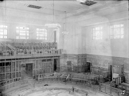House of Representatives, Parliament House under Construction