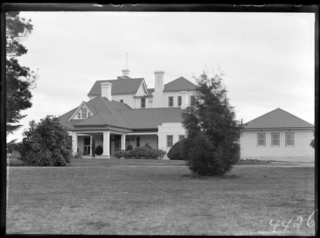 Government House, residence of the Govenor General, from the east, Yarralumla.