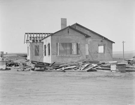 House, concrete construction.