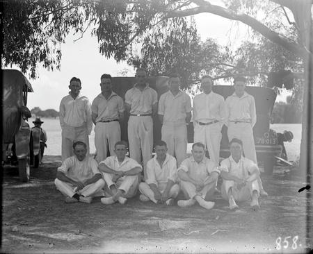 Cricket team.