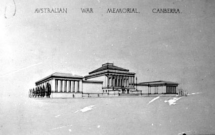 Architectural competition for the design of the proposed Australian War Memorial, entry 34