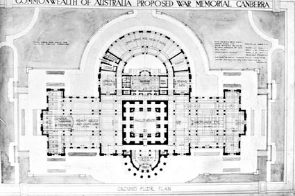 Architectural competition for the design of the proposed Australian War Memorial, entry 28