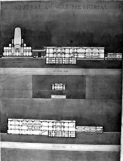 Architectural competition for the design of the proposed Australian War Memorial, entry 49