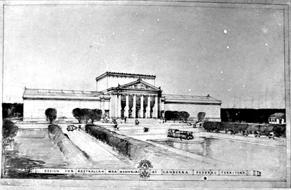 Architectural competition for the design of the proposed Australian War Memorial, entry 38