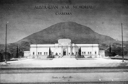 Architectural competition for the design of the proposed Australian War Memorial, entry 63