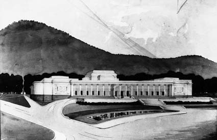 Architectural competition for the design of the proposed Australian War Memorial, entry 2