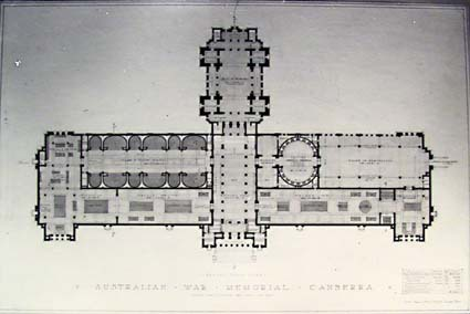 Architectural competition for the design of the proposed Australian War Memorial, entry 9