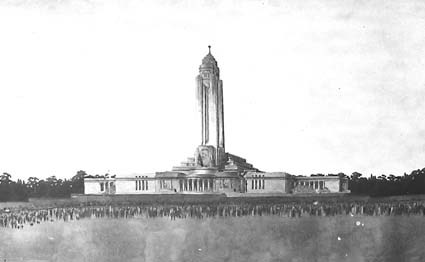 Architectural competition for the design of the proposed Australian War Memorial, entry 57